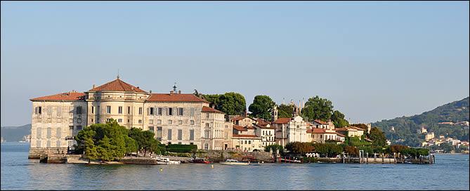Le palais d'Isola Bella