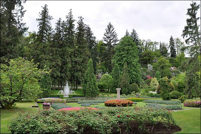 Les jardins de la villa taranto for Jardin italien